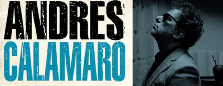 """Andrés Calamaro – Gira """"Licencia para cantar"""""""