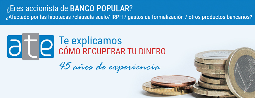 charla gratuita para afectados de banco popular e On hipoteca clausula suelo banco popular