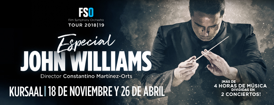 FSO Tour  2018/19: Especial John Williams, Programa I
