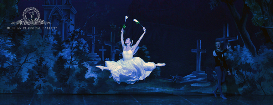 """GISELLE""  –  RUSSIAN  CLASSICAL  BALLET"