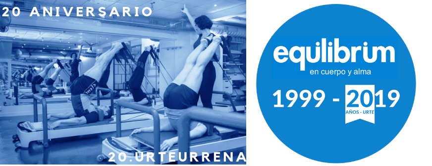 EQUILIBRIUM  CLUB   –  20.  urteurrena
