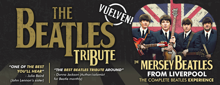 THE BEATLES TRIBUTE – The Mersey Beatles